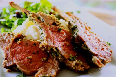 Northern Living - Brazilian Herb, caper and Olive crusted Lamb