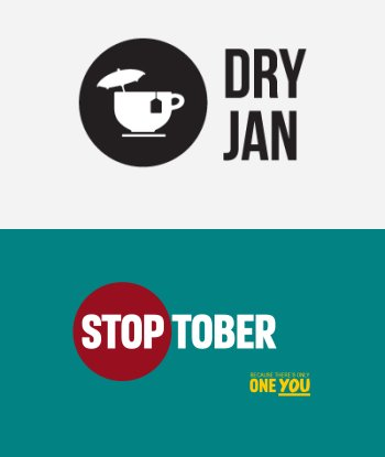 Why don't we support Stoptober and now Dry January?