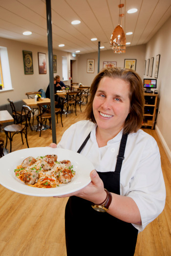 Sausages Sizzles at The Café at Field & Fawcett