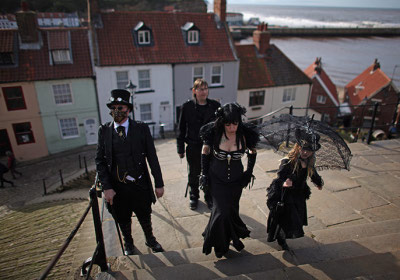 Northern Living - Whitby Goth Weekend - 31st October to 2nd November 2014